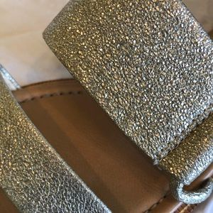 Isola Gold Metallic Sandal - Women's Size 9